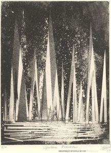 René Bord, Symbiose résurrection,1988, Bibliothèque Municipale de Lyon