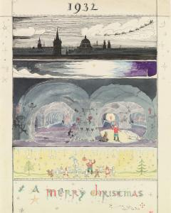 JRR Tolkien, Illustration des Lettres du Père Noël