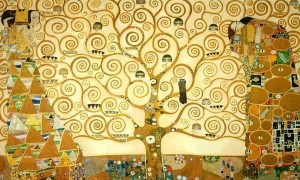 Gustave Klimt, l'Arbre de vie, vers 1905-1909, Palais Stoclet, vers Bruxelles