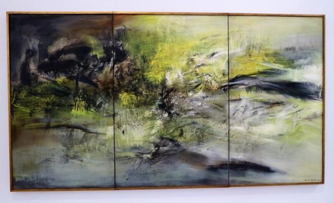 Zao Wou-Ki, 01.04.66, collection particulière